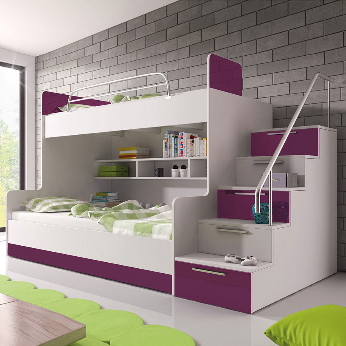 hochbett 2 kinder alle ideen ber home design. Black Bedroom Furniture Sets. Home Design Ideas