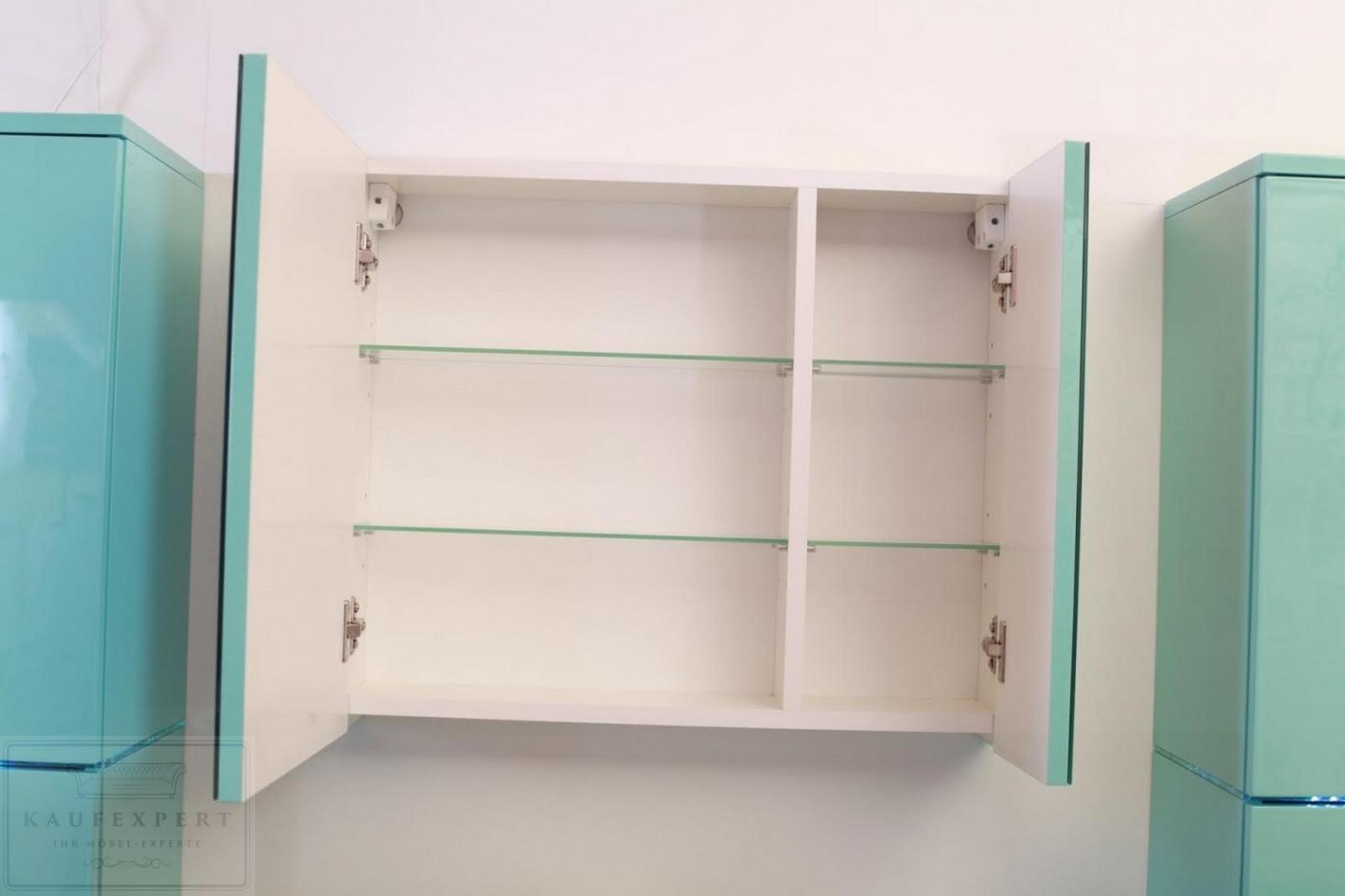 kaufexpert - badmöbel-set prestige 1 lichtgrün hochglanz lackiert, Badezimmer ideen