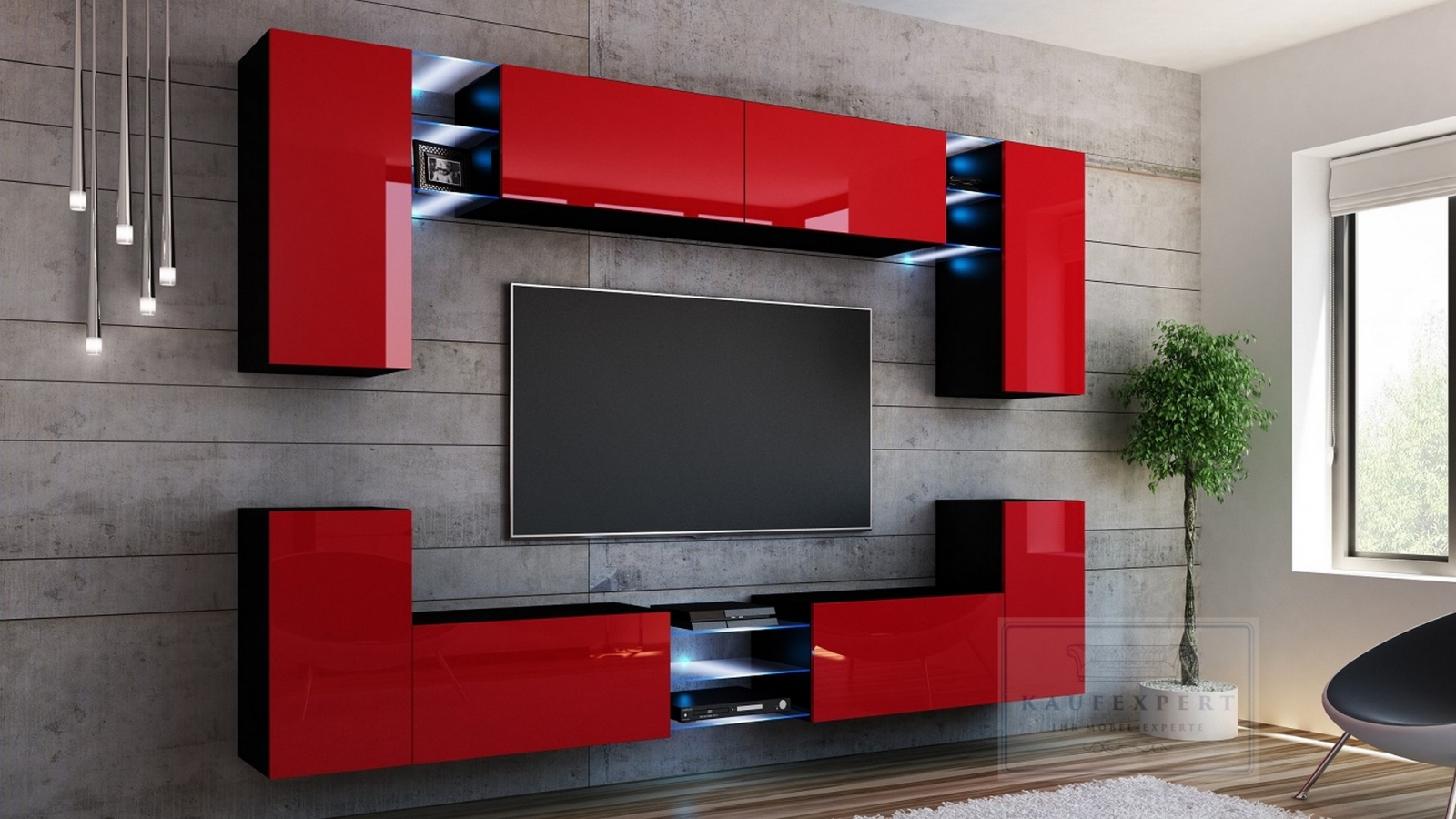 kaufexpert k chenzeile linda schwarz hochglanz 260 cm k che k chenblock mdf arbeitsplatte. Black Bedroom Furniture Sets. Home Design Ideas