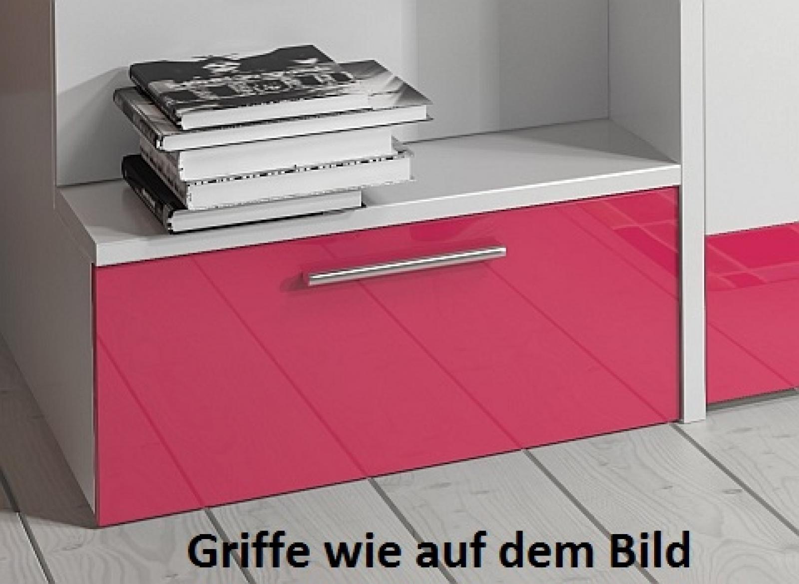 Kaufexpert doppelstockbett violett hochglanz rechts - Doppelstockbett mit treppe ...