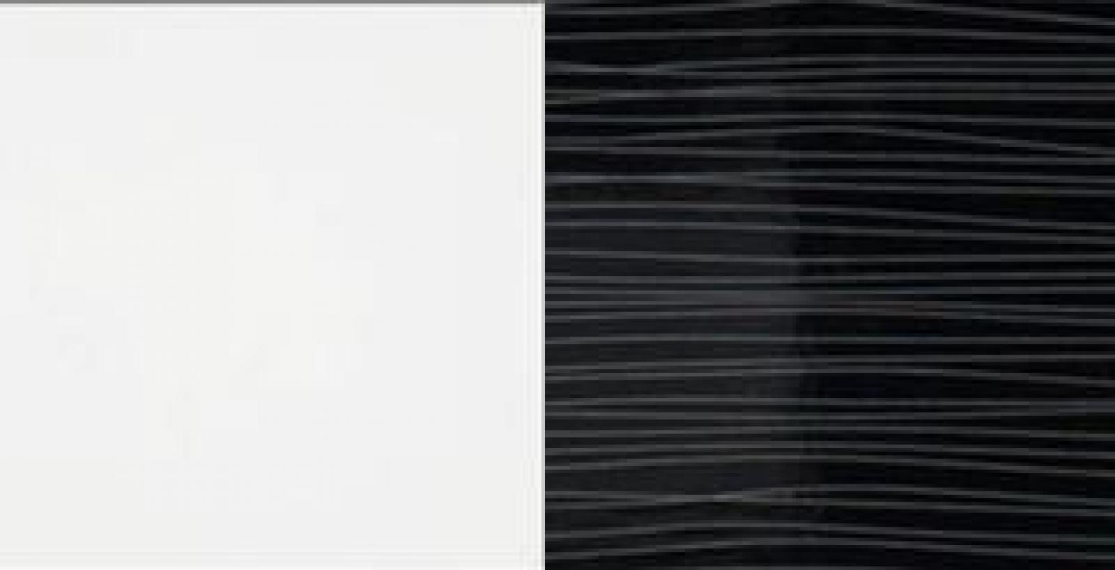 Kleiderschrank spiegel modern  KAUFEXPERT - Schwebetürenschrank 244 cm Strip Schwarz ...