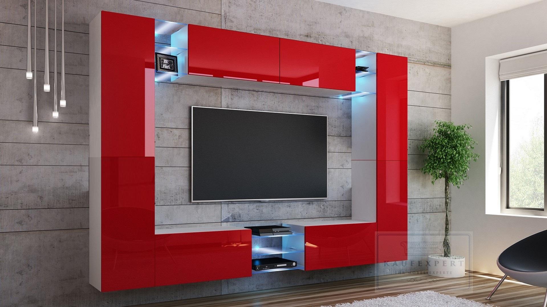 Tv Medienwand By Meine Gmbh With Tv Medienwand Good Wohnwand