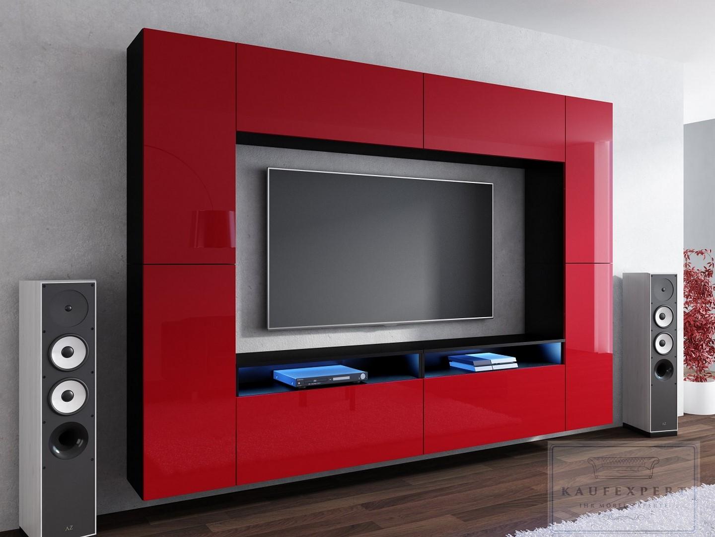Jugendzimmer modern rot/schwarz – sehremini