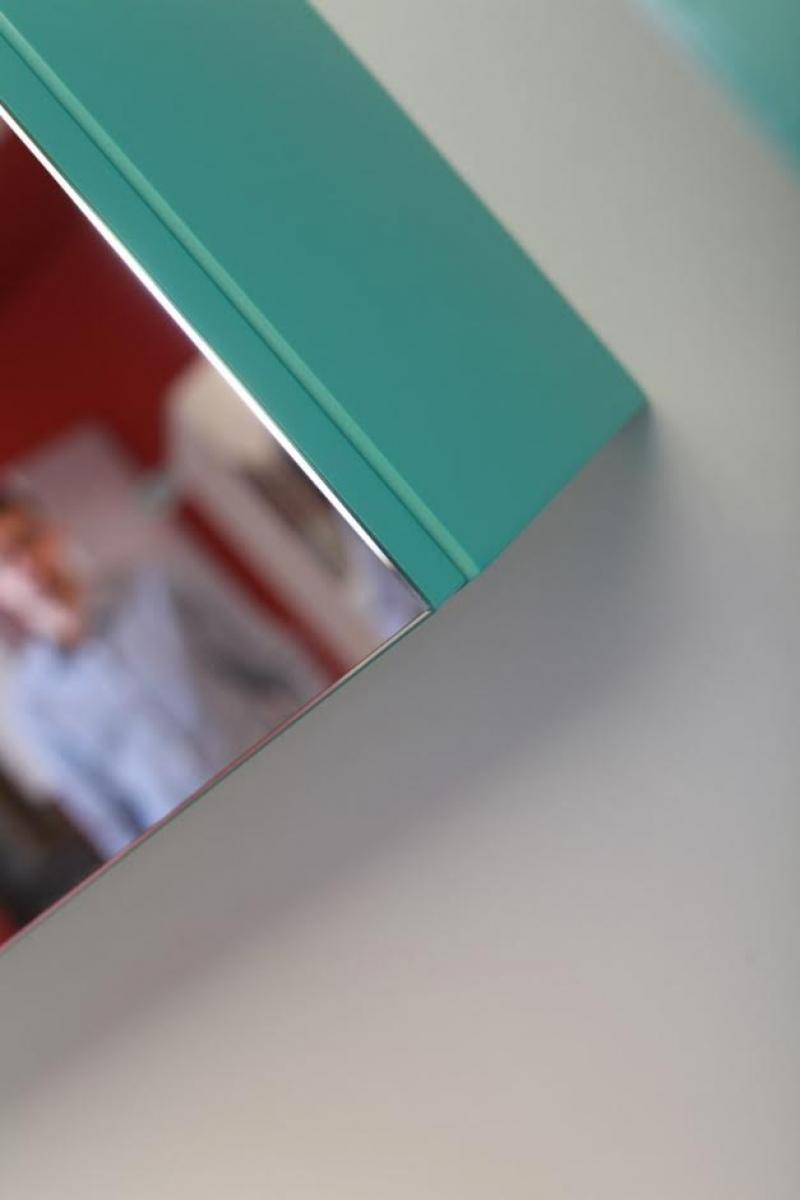 kaufexpert badm bel set prestige 1 lichtgr n hochglanz lackiert keramik waschbecken badezimmer. Black Bedroom Furniture Sets. Home Design Ideas