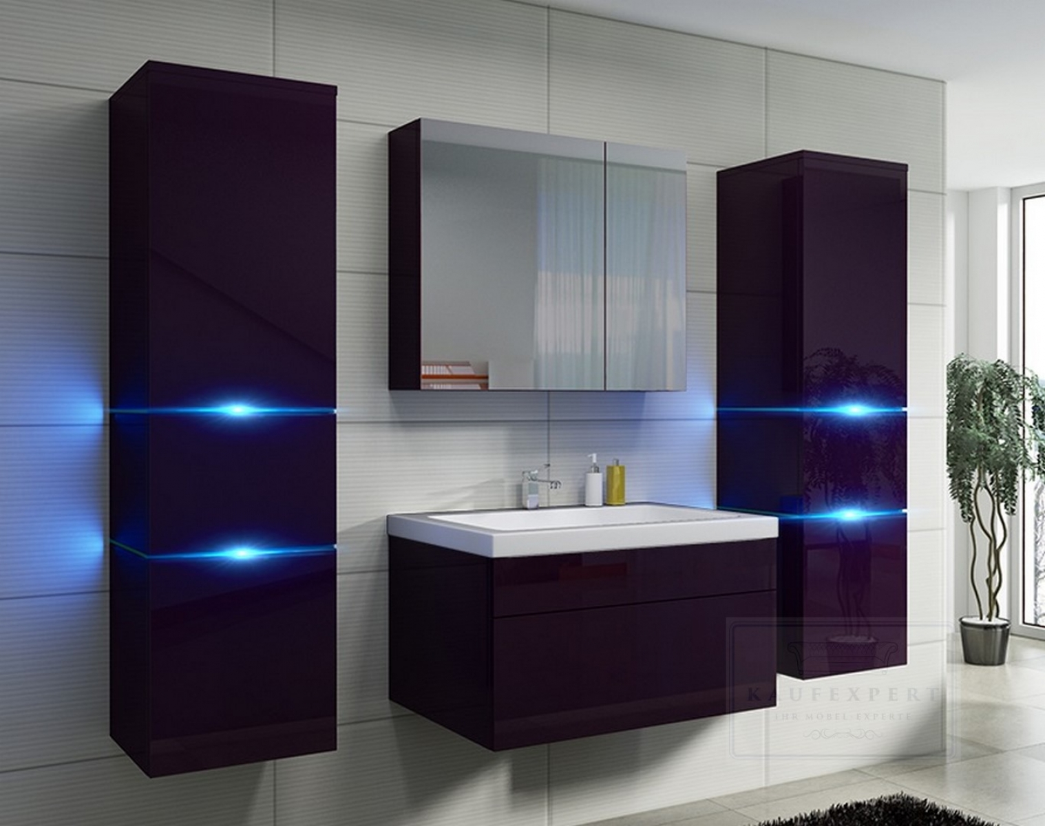 badezimmerm bel mit led beleuchtung my blog. Black Bedroom Furniture Sets. Home Design Ideas