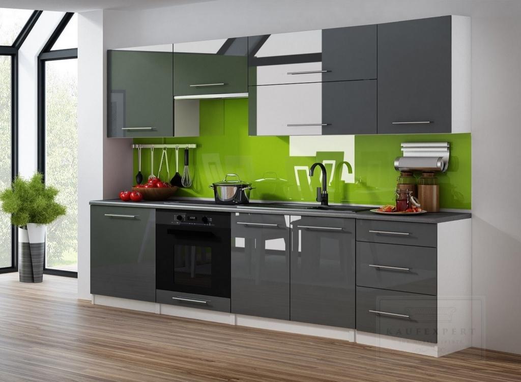 kaufexpert k chenzeilen 240 cm. Black Bedroom Furniture Sets. Home Design Ideas